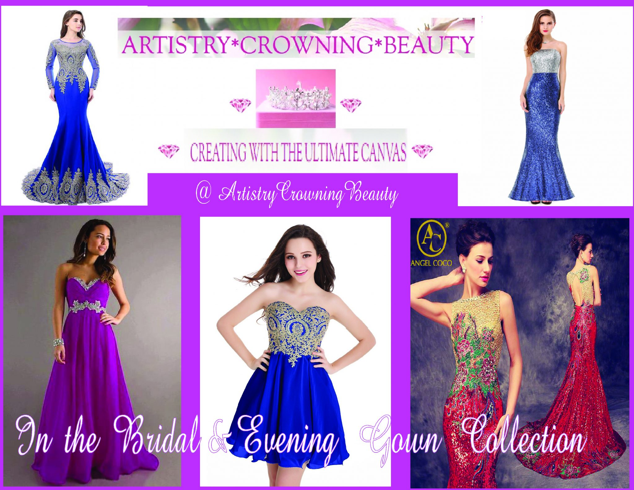0da8fb98203 Bridal   Wedding Evening Dresses   Gowns ⋆ Artistry Crowning Beauty