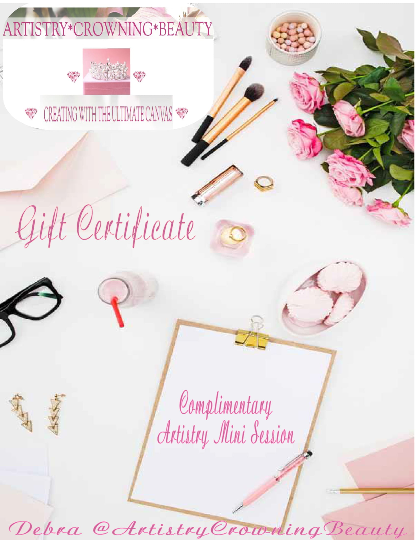 Would you like to hear about your Artistry Mini Session Gift options?